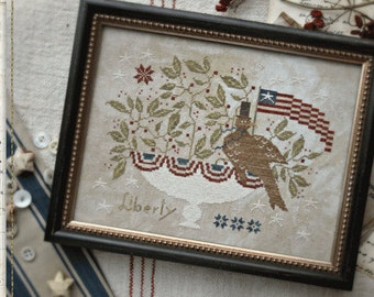 Pattern: Liberty for All Cross Stitch - Country Stitches - With Thy Needle and Thread - Brenda Gervais