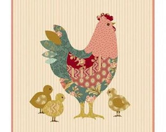 Pattern: Hen House Pillow by Laundry Basket Quilts