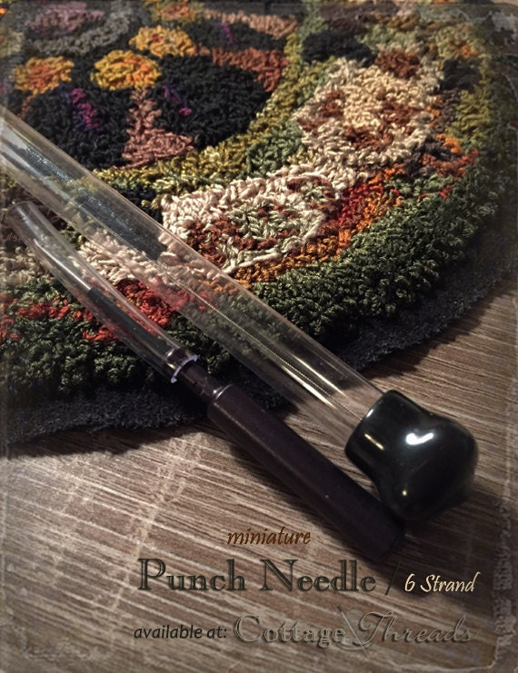 Punch Needle: 6 Strand Mini Punch Embroidery Needle -  CTR Inc