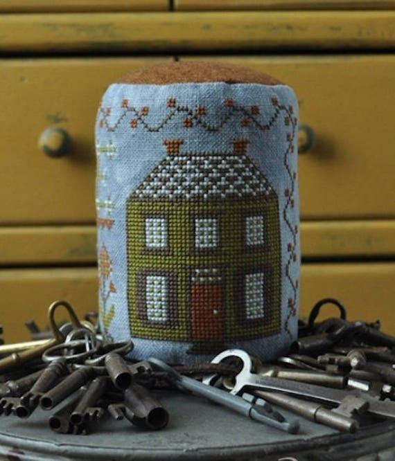 Handmade: Home Cross Stitch Drum by Summer House Stitche Workes