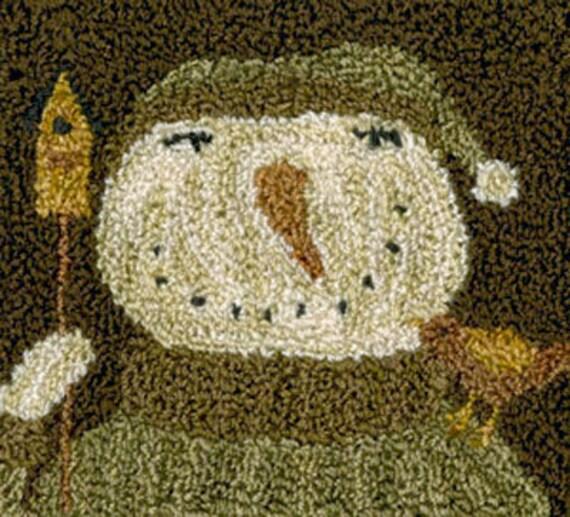 Pattern: Snow Bird Punch Needle by Teresa Kogut