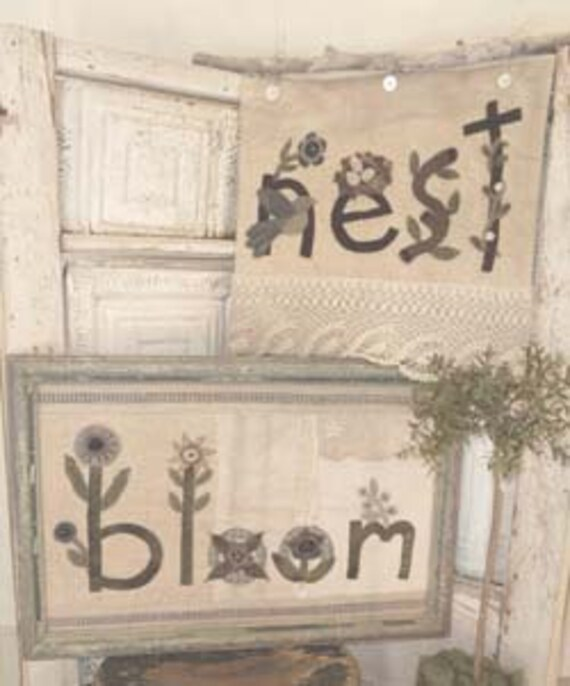 Pattern: Nest and Bloom Wall Hangings by Heart to Hand