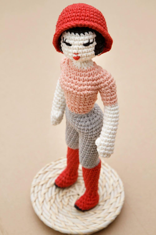 Doll Crochet Pattern Girl Crochet Pattern Miette Fashion Etsy