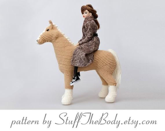 PATTERN: Candi the Unicorn, Crochet Unicorn Pattern, crochet horse ... | 453x570