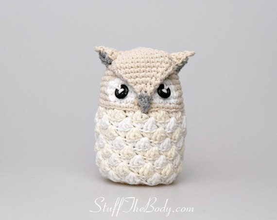 Baby Snow Owl Crochet Pattern – Mama In A Stitch | 453x570
