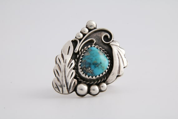 Vintage Turquoise ring, Native American Turquoise