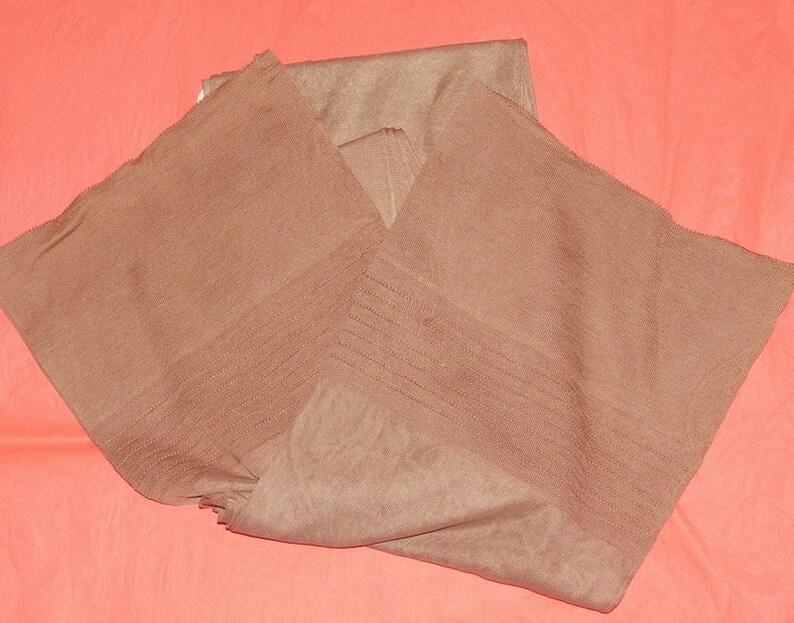 6fa9cbdc2 2 pair vintage 11 1 2 X 36 Sand beige outsize plus size