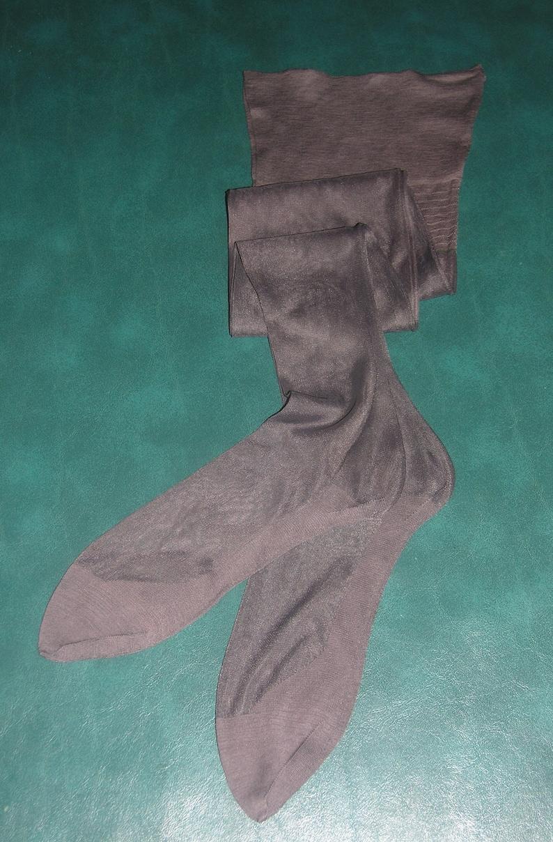 ecc1f2a3a 1 pr vintage 11 X 33 1 2 grey outsize plus size seamed