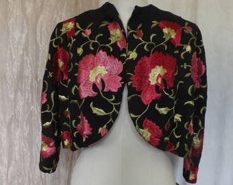 Vintage Piano Shawl Jacket