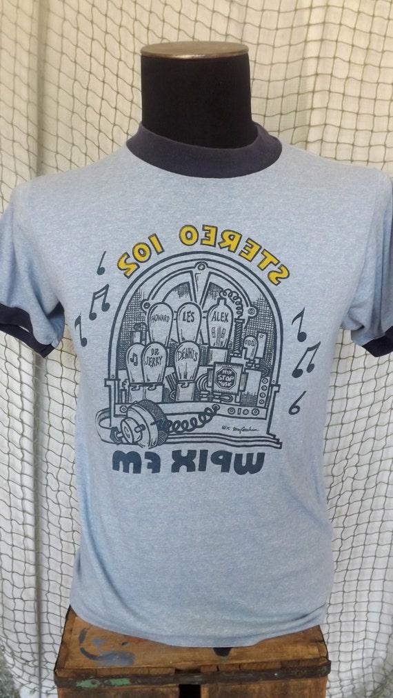 Vintage WPIX FM  Tee Shirt.