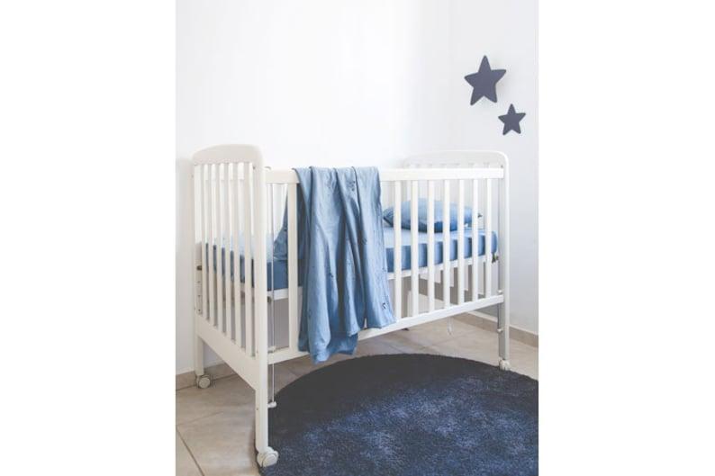 Baby Cot Cot Bed Duvet Cover Cot Sheet Set Blue Duvet Cover Set Blue Sheet Set Little Prince Decor Blue Bedding Set Christmas Gifts