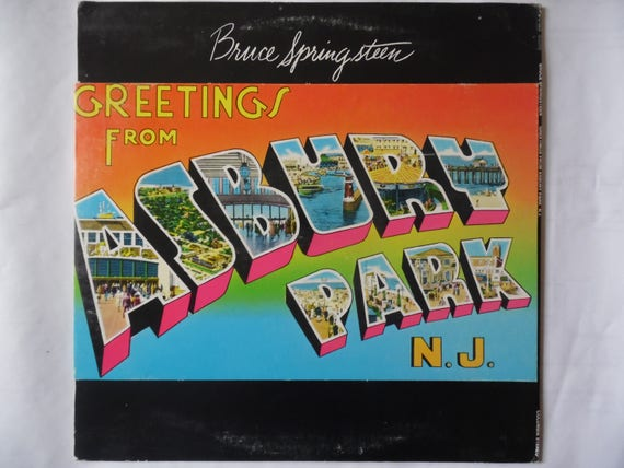 Bruce springsteen greetings from asbury park nj vinyl etsy image 0 m4hsunfo