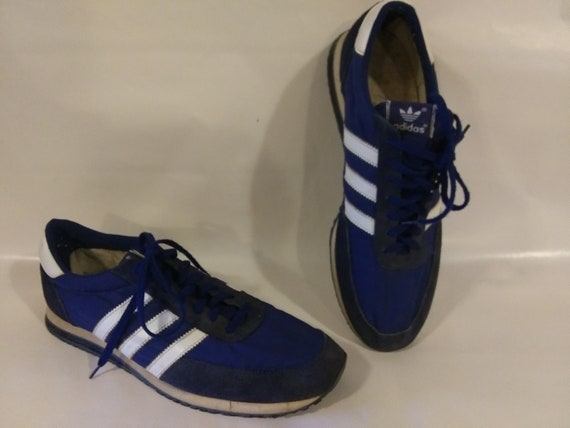 Vintage Addidas Three Stripe sneakers running shoe