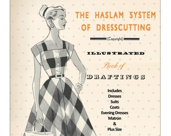 The Haslam System of Dressmaking No. 31 1950's - PDF Booklet Instant Download
