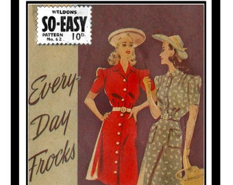 1940s Sewing Patterns