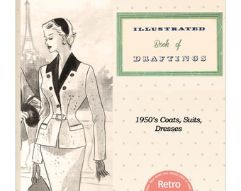 The Haslam System of Dresscutting No. 32 - 1950's - PDF Booklet Instant Download
