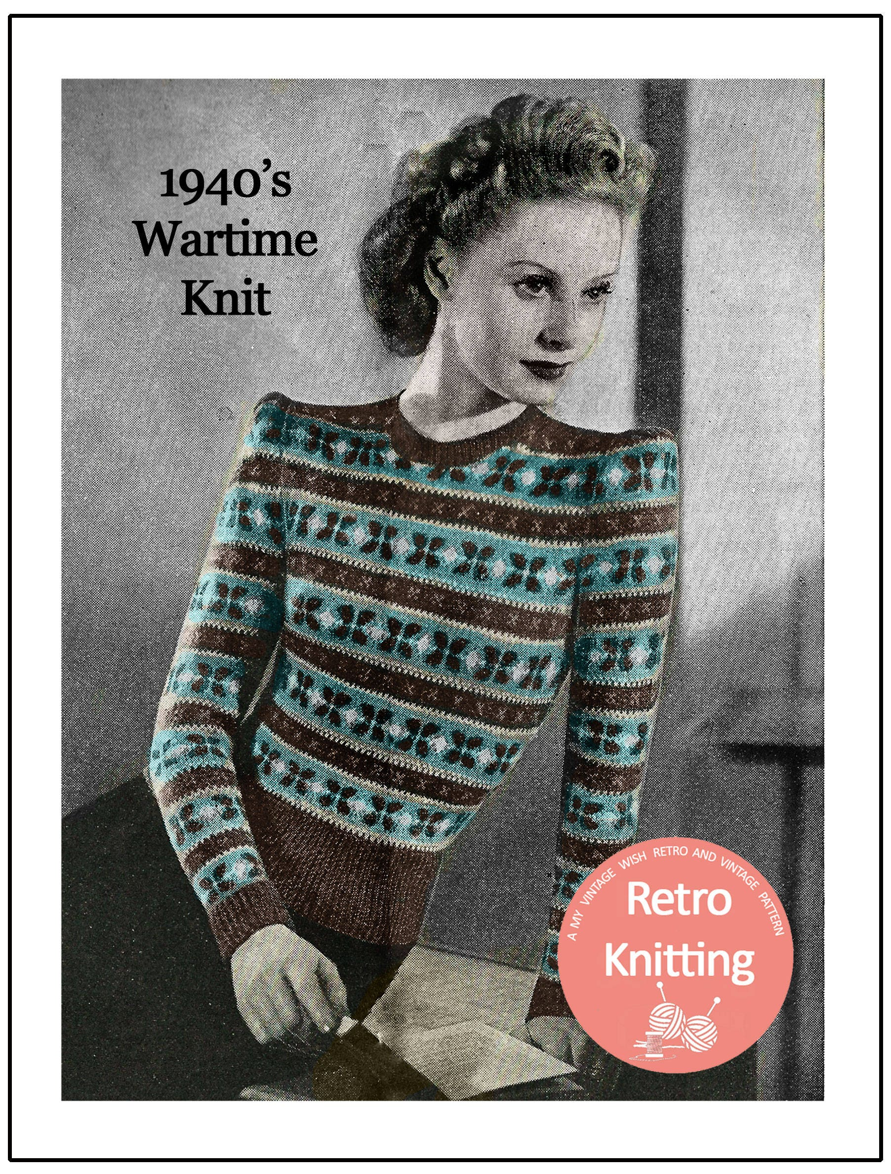 Perfect Wartime Knitting Patterns Composition - Sewing Pattern for ...