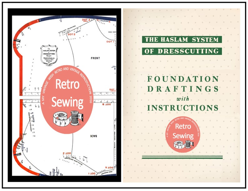 Haslam System of Dresscutting  Pattern Drafting Boards with image 0