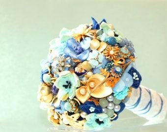 Brooch bouquet - jewelry Bouquet