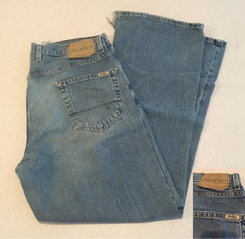 b2df0a4675a Signature Levi Vintage Men's Jean Low Loose Boot Jeans | Etsy