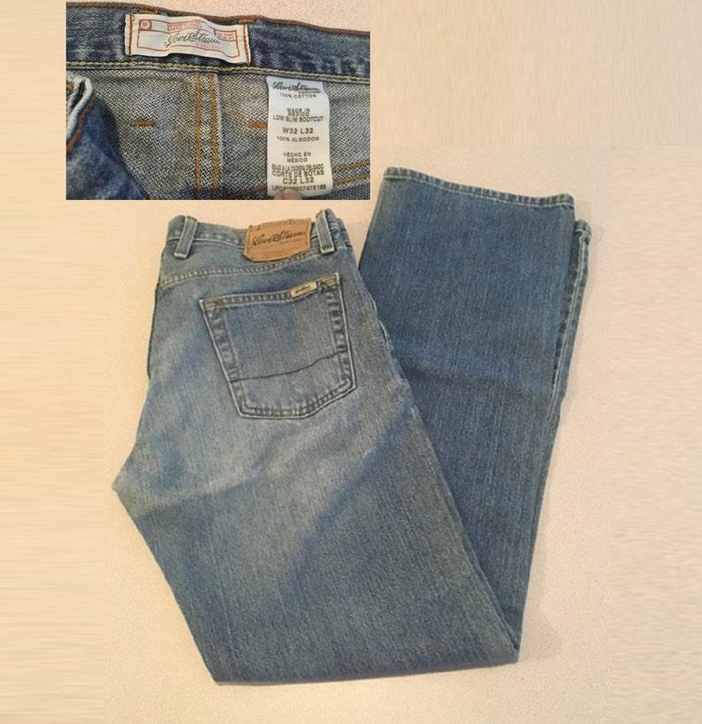 0f337e690ac Signature Levi Vintage Men's Jean Low Slim Bootcut Jeans | Etsy