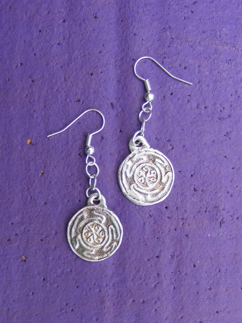 Hekate/'s Wheel Sterling Silver Earrings