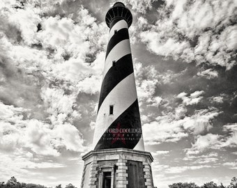 Cape Hatteras Lighthouse (Sepia Matte Print)