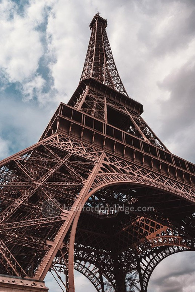 - Eiffel Tower Paris France Color Print Etsy