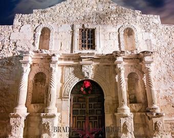 The Alamo (Color Print)