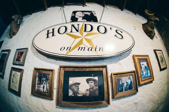 Hondos Fredericksburg Tx >> Hondo S On Main Fredericksburg Texas Color Split Toned Matte Print