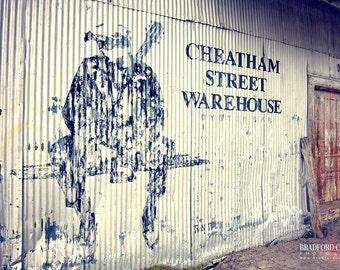 Cheatham Street Warehouse, San Marcos TX (Color Matte Print)