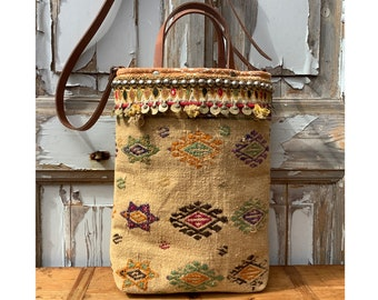 boho bag-kilim bag-handmade bag-tote bag-crossbody bag-coloured bag-bohemian bag-shoulderbag-bucket bag-unique bag-Ibiza bag-