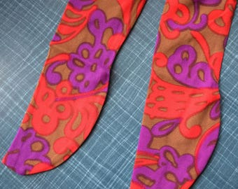 Carnaby Street - 1960's Patterned Tights/Leggings - Age 1 to 2