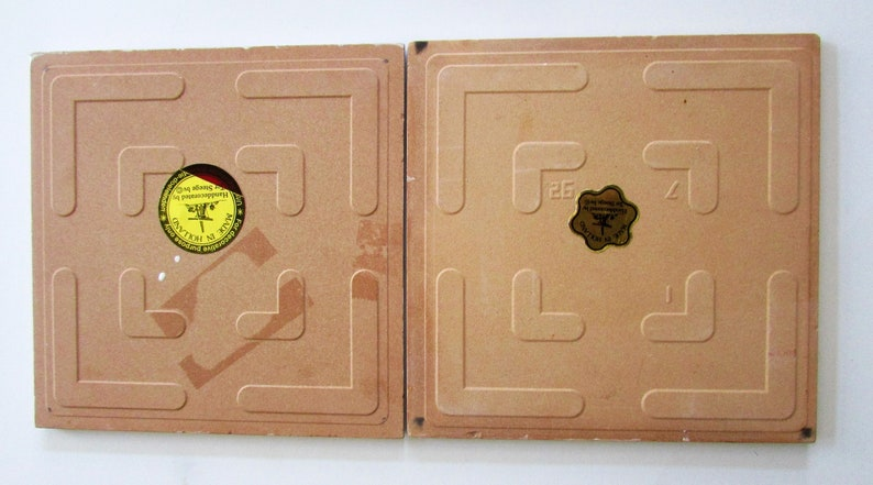 Beautiful Vintage Color Windmills Made Holland 6 Tiles