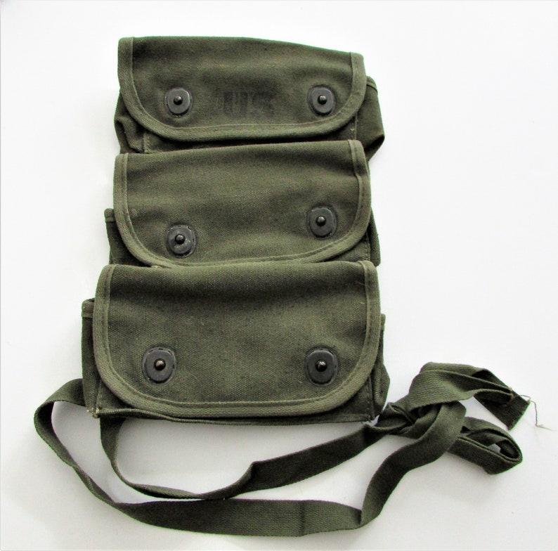 Vintage WW2 US Army Military Field Gear Vintage Combat Medic Bag