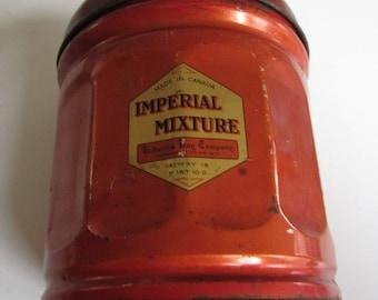 Vintage Hudson's Bay Company Imperial Mixture Tobacco Tin