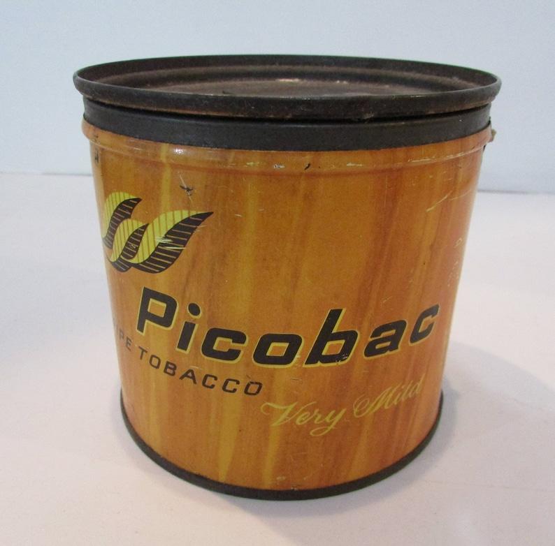 Vintage Picobac Pipe Tobacco Tin
