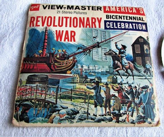 Viewmaster B 812 US Bicentennial Westward Expansion