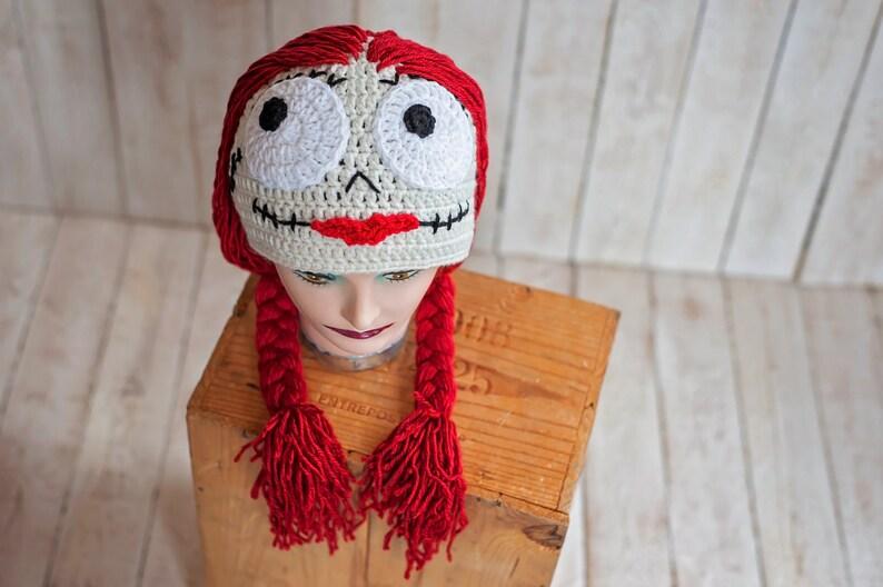 b665289b Crochet Nightmare Before Christmas Hat Sally Doll | Etsy