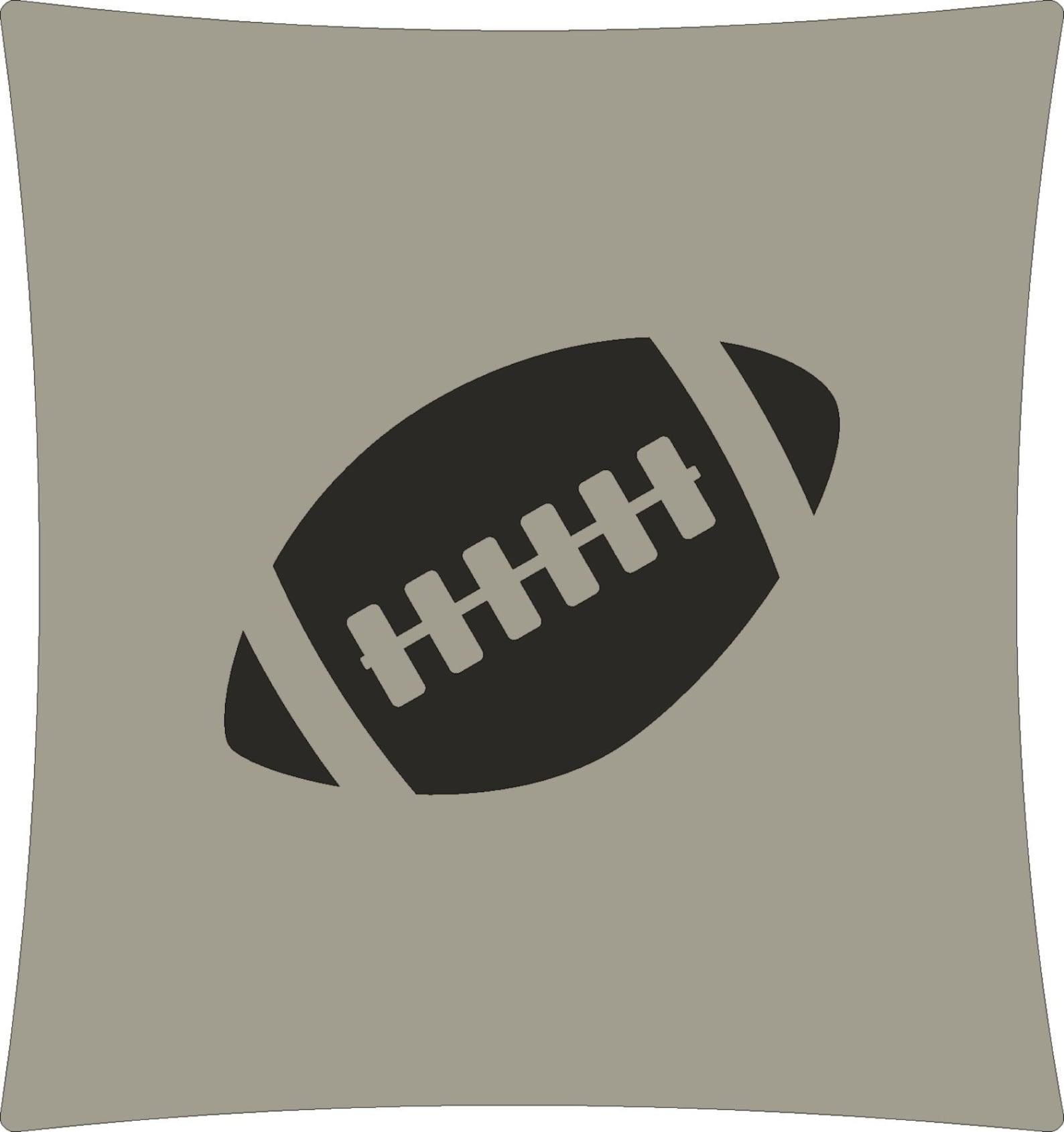 custom cushion cover with hand cut icon - hockey, boxing, soccer, football, skating, ballet and princess