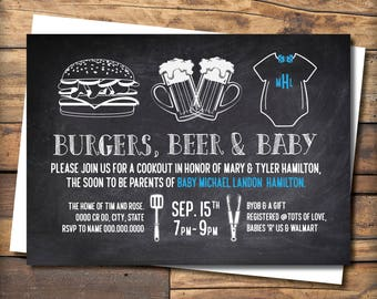 Burgers, Beer & Baby Shower