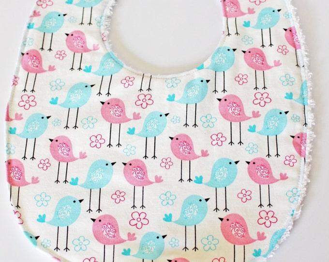 Sweet Tweets Baby Boutique Binky Bib ~ For Baby ~ Baby Girl ~ Baby Boy ~ Baby Bibs~ Pacifier Bibs ~