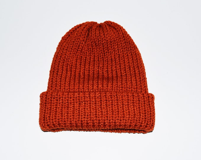 The Classic Beanie Terracotta
