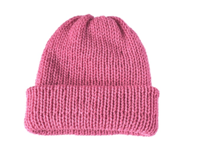 The Classic Beanie  Pink
