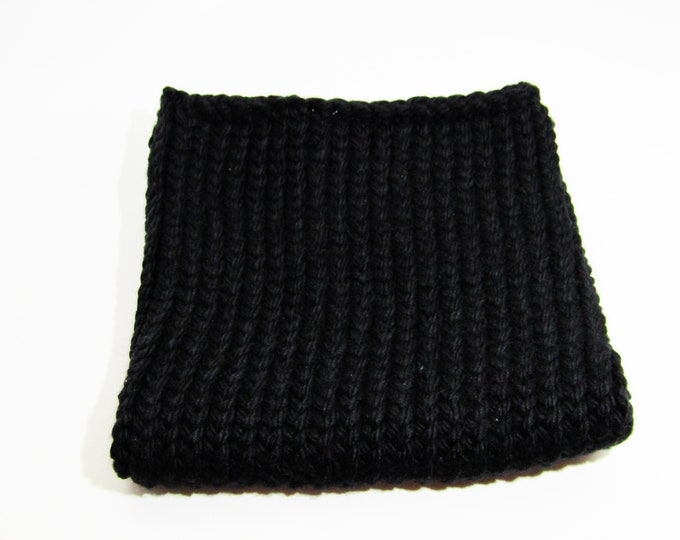 Solid Black Cowl