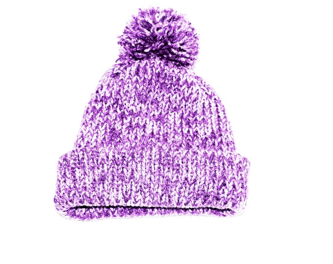 The Classic Beanie Purple Mist