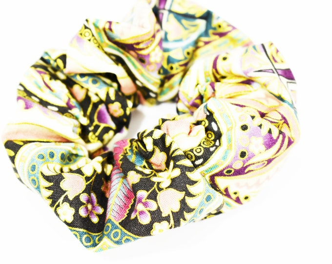 Scrunchies ~ Designer Boutique Scrunchie ~ Messy Bun ~ Top Knots ~ 90s Hair