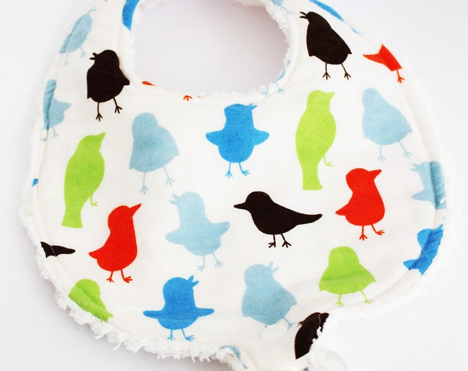 Birds of A Feather Boutique Baby Binky Bib