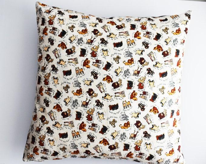 Decorative Pillow ~ Noah's Arc  Pillow Cover ~ Pillow Covers ~ Nursery