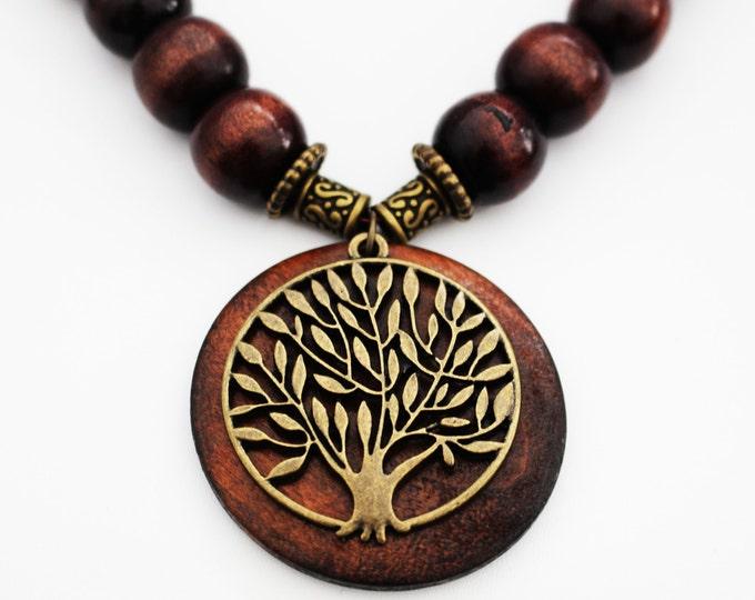 Tree of LIfe Boho Necklace